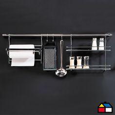Home Collection Set de Organización Cocina 5 piezas. #Sodimac #Cocina #Homecenter