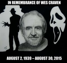 What is YOUR favorite Wes Craven movie? #RIP #horror