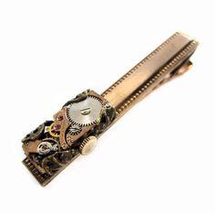 Steampunk Tie Bar