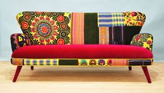 Suzani 3 seater sofa Summer by namedesignstudio on Etsy, £1,797.06