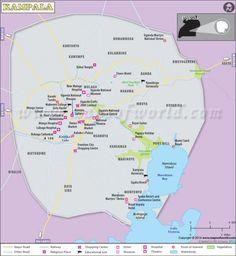 nice Kampala Map