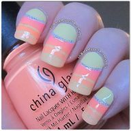 Beauty nails: Nail Art, Fashion Nailes, Modern Nail, Lovely Nails, Awesome Nails, cute, fashion, nails, style, art, awesome, classic, colours, french, love, manicure, modern, nailing, polish, pretty