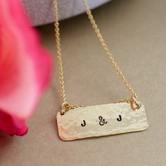 always and forever - personalize your necklace today! #behandpicked
