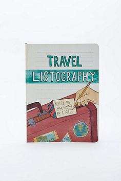 Listography Travel Book - Urban Outfitters