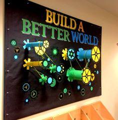 Build a Better World | Summer Reading Program | gears
