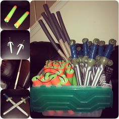 TMNT Weapons DIY and where to purchase