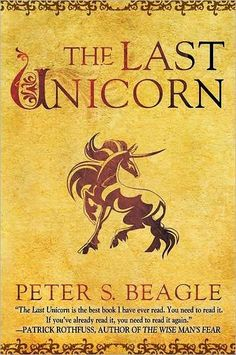 The Last Unicorn - the movie may have done better if the illustration was like this cover