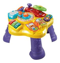 VTech Magic Star Learning Table. Toys for Girls, Toys 1 year old, this is toys Activity Cube, Activity Toys, Activity Centers, Fun Activities For Toddlers, Infant Activities, Educational Toys For Kids, Learning Toys, Baby Learning, Fisher Price