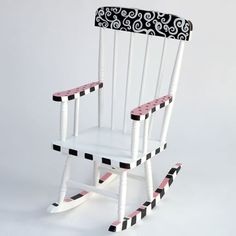 Cest Chic Rocking Chair - Kids Decorating Ideas