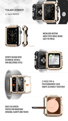 Apple Watch Case Tough Armor [42mm] – spigen.com