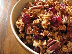 Cranberry Pecan Granola