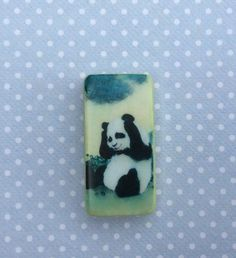 Needle Minder - Cross Stitch - Needleminder - Needle point - Needlecraft - Panda - Animal  - sewing  - crosstitch - Magnetic needle minder by DaintyDotsDecoupage on Etsy