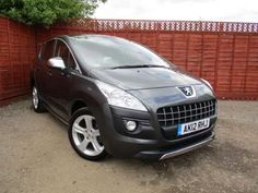 Used 2012 (12 reg) Grey Peugeot 3008 1.6 HDi 112 Sportium 5dr for sale on RAC Cars