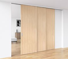 Living Room Sliding Doors, Room Divider Doors, Japanese Home Decor, Japanese House, Door Design, House Design, Movable Walls, Interior Architecture, Interior Design