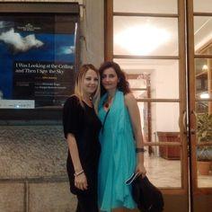 Con Emanuela Panatta