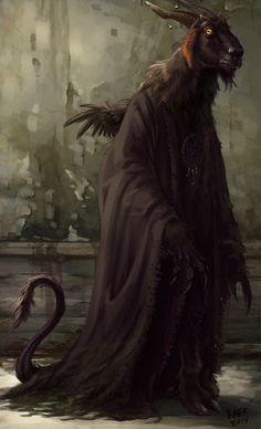 Baphomet demon of witchcraft Dark Fantasy Art, Dark Art, Ange Demon, Demon Art, Arte Horror, Horror Art, Traditional Witchcraft, Satanic Art, Les Religions