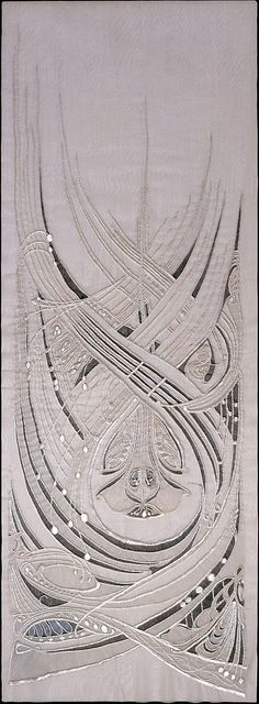 Elegant Dress Panel ca.1900