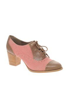 ASOS: Shamble Block Heel Town Shoe. $71.72