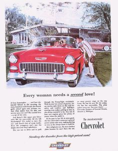 All the great Chevy models in one place 1955 Chevy Bel Air, 1955 Chevrolet, Chevrolet Malibu, Chevrolet Bel Air, Chevrolet Corvette, Roadster Car, Chevy Models, Car Brochure, Car Advertising