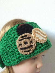 girl scout cookie hat girl scout cookie by TheCrabbyCrochet