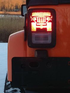 This one-of-a-kind, Tail light cover - Made in the USA product fits all models of Jeep® Wrangler from production years 1976-2014.