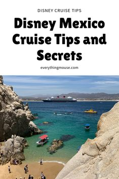 Disney Mexico Cruise Tips and Secrets. Everything you need to know about a Disney Cruise to Mexico from San Diego.  #DisneyCruiseTips #DisneyCruise