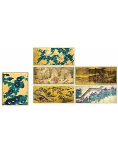 Note Cards, Japanese Screens