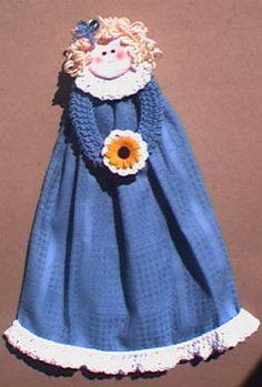 Crochet dresses, Kitchen towels and Kitchen towels crafts ...