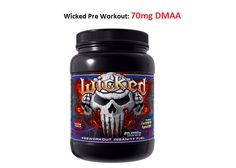Innovative Labs Wicked Pre-Workout DMAA Supplement |  30 Full Servings  Check out our breakdown of the ingredients and review