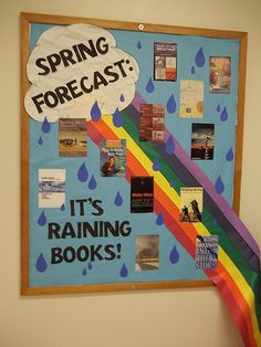 March bulletin boards for libraries