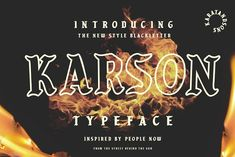 Karson is a stunning blackletter font, inspired by the people in the shadows of society. This font comes in multiple styles so you can use it in a wide range of project types. This is a great font for streetwear and vintage project styles. Texture Web, Line Texture, Great Fonts, All Fonts, Design Typography, Typography Inspiration, Typography Poster, Design Inspiration, Gothic Fonts