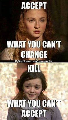 I'm with Arya on this one.
