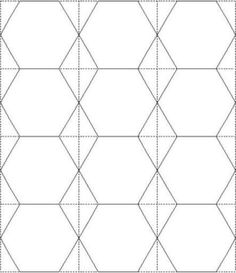 Pics for 2 inch hexagon template for 1 5 inch hexagon template
