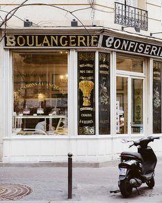 PARIS POUR LA VIE | Paris pour la vie Montmartre Paris, Coffee Shops, Paris Bakery, La Salette, Grand Paris, Paris Decor, White Wall Art, Paris Photography, Poetry Photography