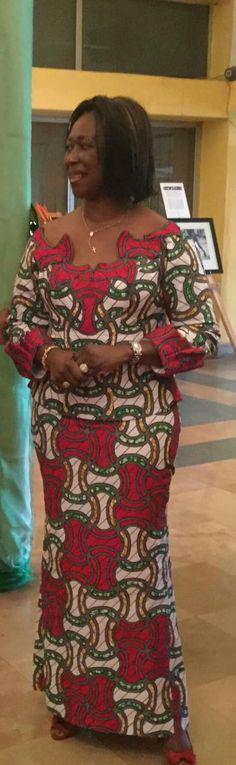 Ensemble maxi ~DKK ~ Latest African fashion, Ankara, kitenge, African women dresses, African prints, African men's fashion, Nigerian style, Ghanaian fashion.
