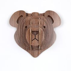 Bear Mahony Christmas Decoration by Moodadventures on Etsy