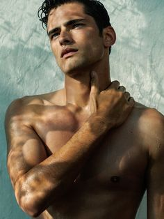 "A Stunning Sean O'Pry Poses for James Houston. I'm not sure ""stunning"" is a strong enough word."