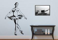 Wall Decal Ballerina - Beautiful Ballet Girl