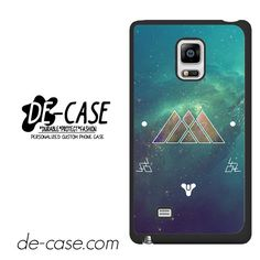 Destiny Warlock Art DEAL-3216 Samsung Phonecase Cover For Samsung Galaxy Note Edge