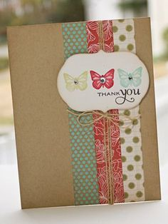 diy thank you cards for teachers - Google Search