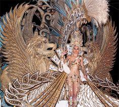 Reina del Carnaval de Tenerife en 2015.