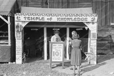 Your Fortune Teller 10 cents Temple of Knowledge 8x12 Reprint Of Old Photo