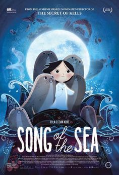 "Headline: ""Song of the Sea"" Receives Multiple Annie Awards Nominations, Incl. Best Picture - Now Playing In Select Theaters (Thursday, January 8, 2015) Image credit: Cartoon Saloon/GKids ♛ Once Upon A Blog... fairy tale news ♛"