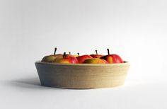 apple cake ♥ light clay, milky shiny glaze inside ♥ Aisälädäsigns, Stuttgart, Germany ♥