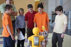 Humanoid robot teachers can now decrease classroom boredom