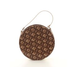 Your place to buy and sell all things handmade Circle Purse, Leather Handbags, Leather Bags, Beautiful Handbags, My Bags, Leather Fashion, Snake Skin, Crossbody Bag, Shoulder Bag