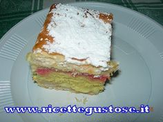 Diplomats with puff pastry and sponge cake