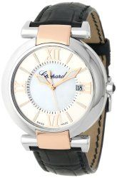 Chopard Women's 388531-6001_LBK Imperiale Black Leather Strap Watch