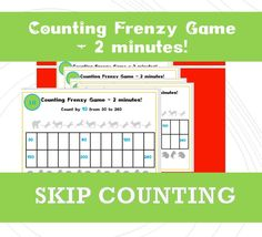 Skip Counting Games, Counting By 10, Fun Math Games, Early Years Maths, Repeated Addition, Multiplication Games, Tens And Ones, Addition And Subtraction, Eyfs