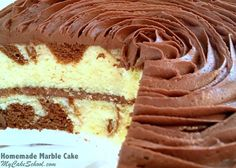If you love Marble Cake, you should try changing things up a bit sometime with Zebra cake! The same idea as marble cake, only with a zebra print pattern! You can find our free step by step tutorial here: Zebra Cake Tutorial. Marble Cake Recipes, Marble Cake Recipe Moist, Cupcake Recipes, Dessert Recipes, Cake Recipes From Scratch, Greek Recipes, Asian Recipes, Cupcake Cakes, Baby Cakes